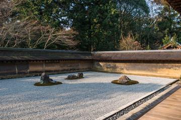 京都 龍安寺 The zen garden Kyoto