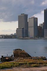 Schiffswrack vor Manhattan