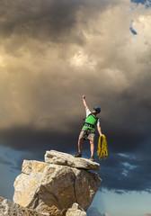 Conquer the mountain.