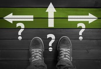 Welchen Weg soll ich nehmen?