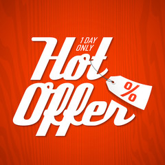 Hot Offer design template