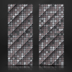 Seamless Grey Gquare Tiles Pattern
