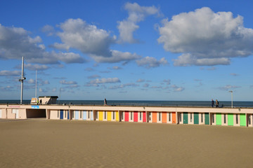 Nord , the picturesque city of Le Touquet