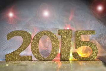 2015 sur fond couleurs