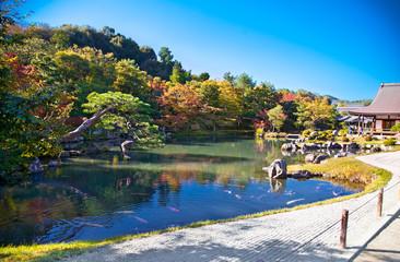 Tenryu-ji Temple at Arashiyama, Kyoto. Japan.