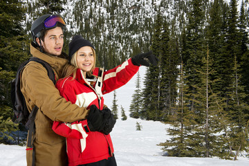 Wintersports Couple