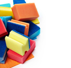 Kitchen sponges for washing dishes