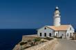 canvas print picture - Leuchtturm bei Cala Ratjada