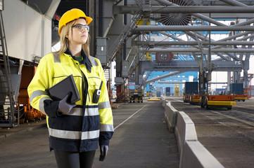 Industrial Harbor inspector