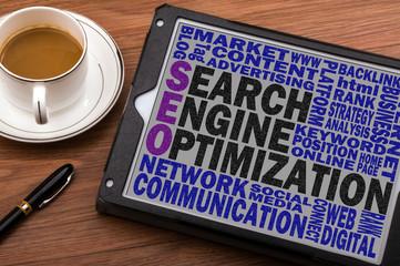 search engine optimization concept