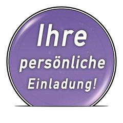 bg28 ButtonGrafik UmschlagButton ub18 - Einladung1 violett g2570