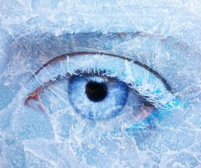 frozen eye zone makeup