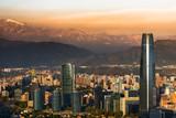Fototapety Santiago de Chile