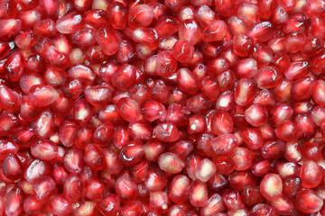 fresh pomegranate fruits