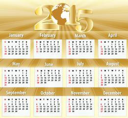 2015 Calendar Deluxe Edition