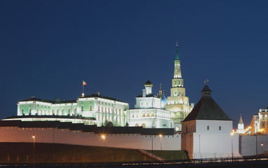 Complex of Governor's palace in Kazan Kremlin
