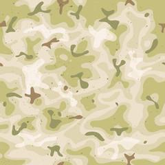 Seamless Military Camouflage Set