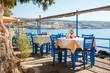 Seaside cafe terrace - 73484132