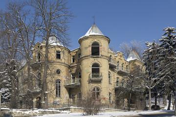 The abandoned building. Pyatigorsk.
