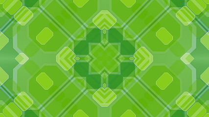 2D Geometric Looping Abstract Animated Background