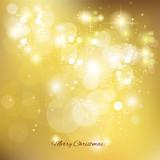 golden christmas background , vector illustration