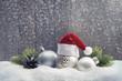 canvas print picture - Weihnachtswichtel