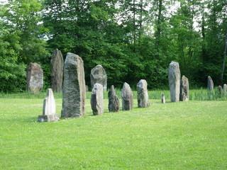 Megalith in Yverdon – switzerland