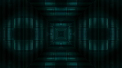Dark Blue Line Abstract VJ Looping Animated Background