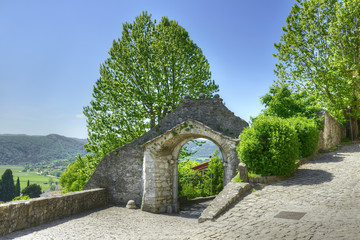 The Large Gate (Vela Vrata) of Old Town Buzet, Istria