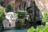 Dervish house in Blagaj, near the Mostar poster