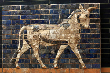Fragment of Ishtar Gate