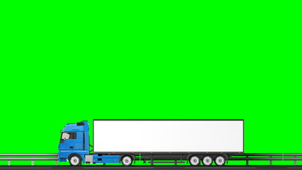 4k, Your text on the truck,transitions (green screen, alpha)