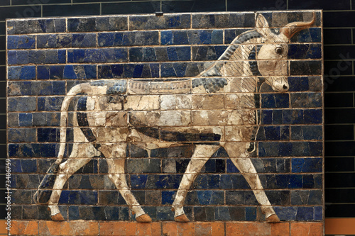 Papiers peints Turkey Fragment of Ishtar Gate