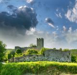 Ruins of the castle Dvigrad, Istria, Croatia
