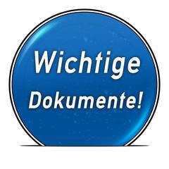 bg34 ButtonGrafik UmschlagButton ub24 - Dokumente1 blau g2576