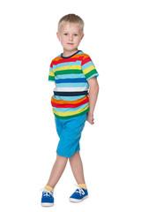 Fashion little boy