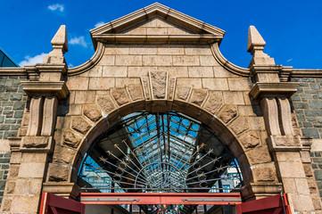 Jersey  - Saint Helier Eingangsportal