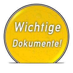 bg38 ButtonGrafik UmschlagButton ub28 - Dokumente1 gelb g2580