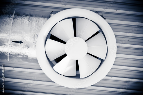 Industrial techno fan - 73488312
