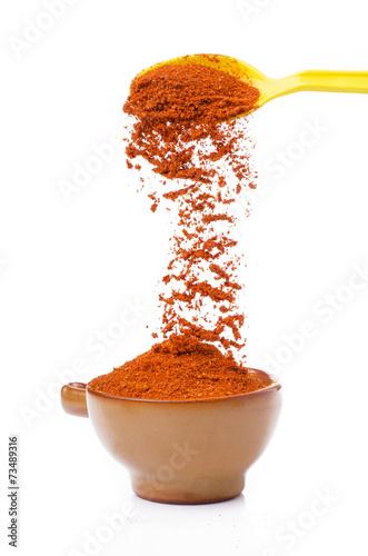 Papiers peints Hot chili Peppers peperoncino piccante macinato