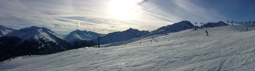 Schnee Panorama
