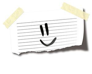 Notiz Smiley