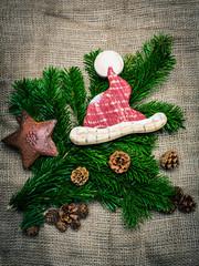 Hintergrund - Weihnachten maßvoll natürlich