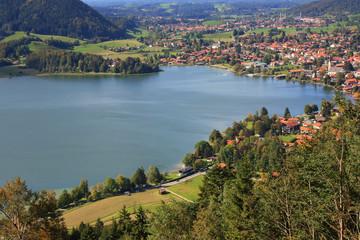 Luftkurort Schliersee - Blick von der Hohenwaldeck