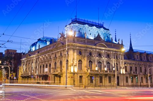 Fototapety, obrazy : Poznanski's Palace in Lodz, Poland