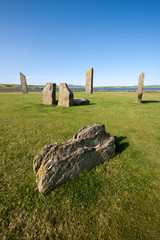 Stenness Standing Stones, Orkney, Scotland