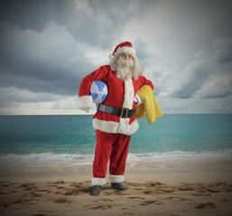 Santa claus vacation