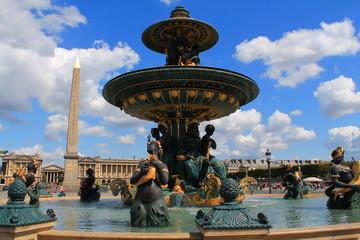 Fontaine de la concorde à Paris, France