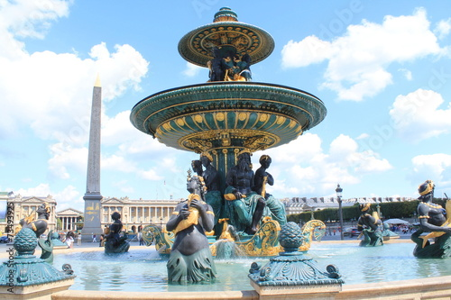 Fontaine de la Concorde à Paris, France