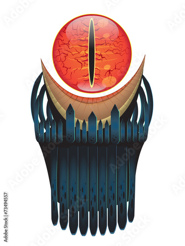 Sauron Eye vector